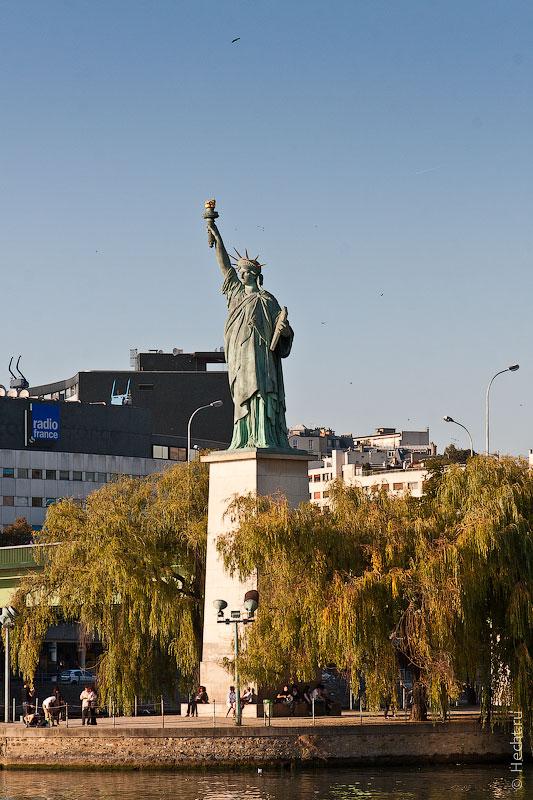 Французская статуя свободы