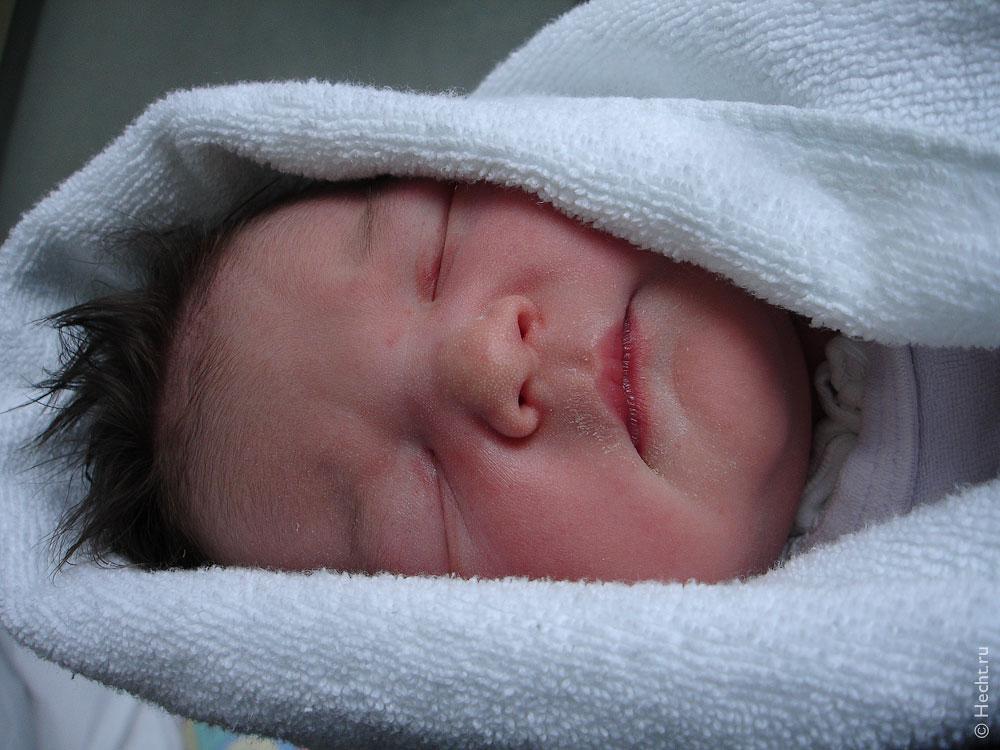Рождение Эвелины