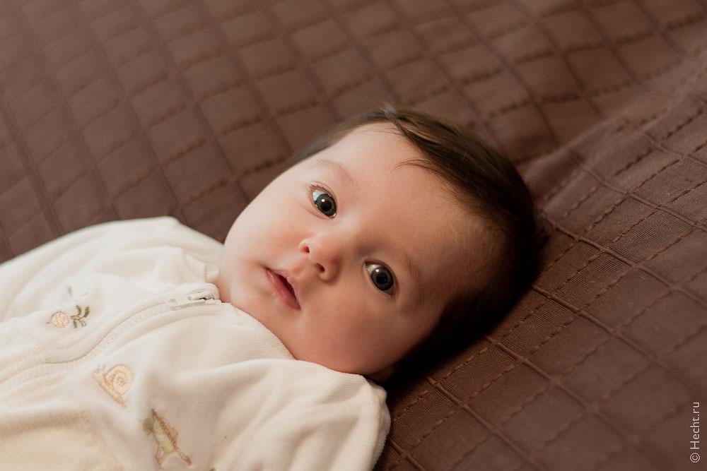 Эвелине 2 месяца